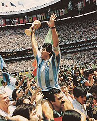 Maradona against Greece 1994